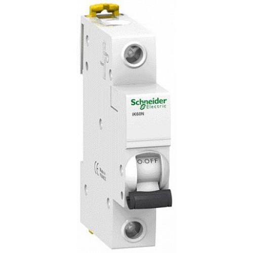 Автоматический выключатель модульный Schneider Electric iK60 1п 25А C 6кA AC (перемен.) (A9K24125)