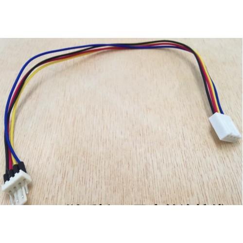 Четырёхпроводной шлейф «мама-папа»  для PWM вентиляторов 27см