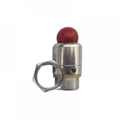 Клапан аварийный, предохранительный. Посадочное 14мм, до 160 кПа